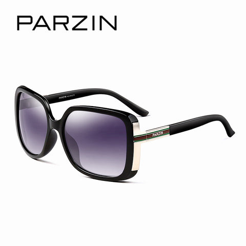 PARZIN 2018 Brand New Women Classic Polarized Sunglasses,  Big Frame Sunglasses, With Case Accessories