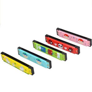 Educational Swan Harmonica 16 Holes, Educational Musical Toy. Gift For Kids, Instrument.