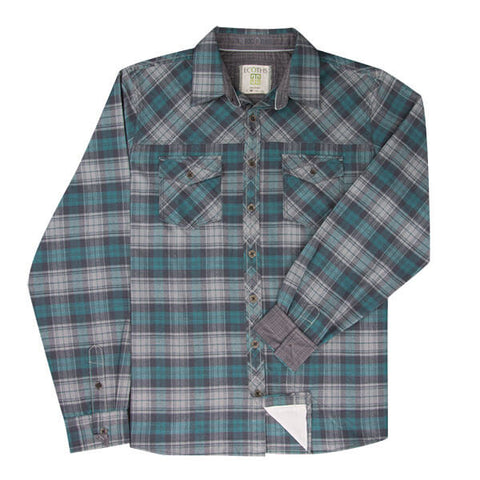 Ecoths Zander Long Sleeve Flannel Shirt