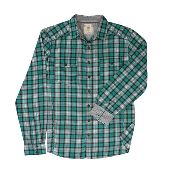 100% Organic Cotton Men's Button Down Shirt