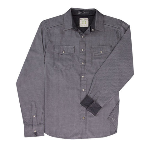 Ecoths Donnelly Long Sleeve Woven Button Down Shirt