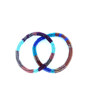 Altiplano Glass Beaded Bangle