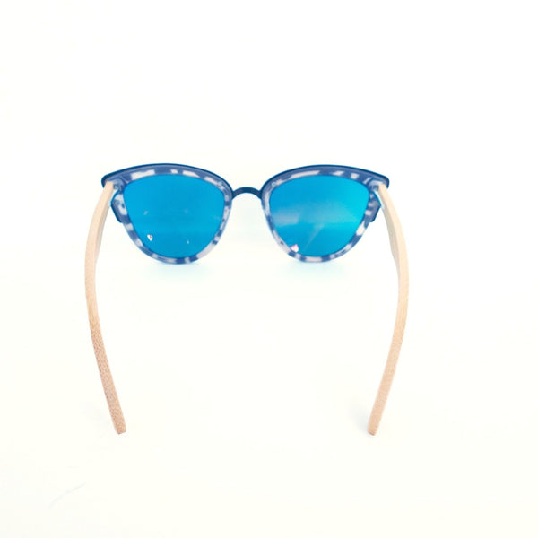 Blue Planet Recycled Plastic and Bamboo Sunglasses
