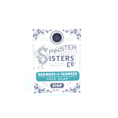 Spinster Sisters Oakmoss and Seaweed Face Soap