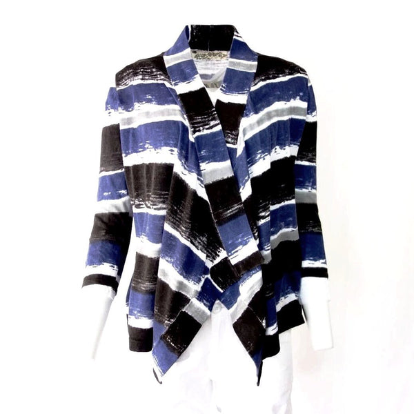 100% Organic Cotton Sweater Jersey Cardigan