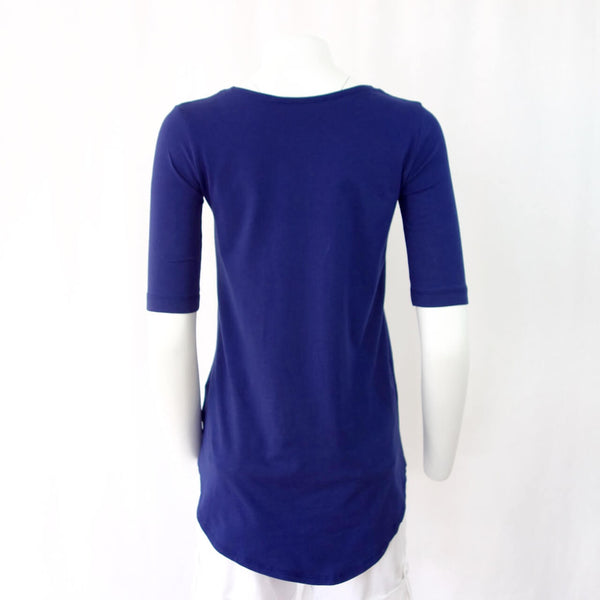 Organic Cotton Swing Tunic With Elbow Sleeves