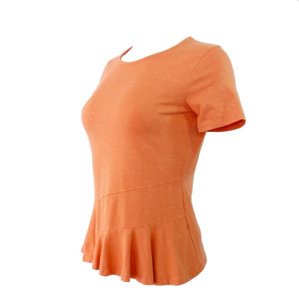 Organic Cotton Peplum Top Made in the USA
