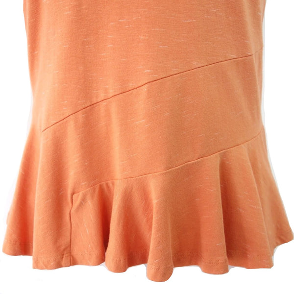 Blue Canoe Organic Cotton Peplum Top