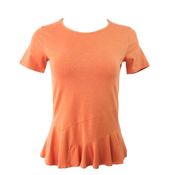 Organic Cotton Peplum Top