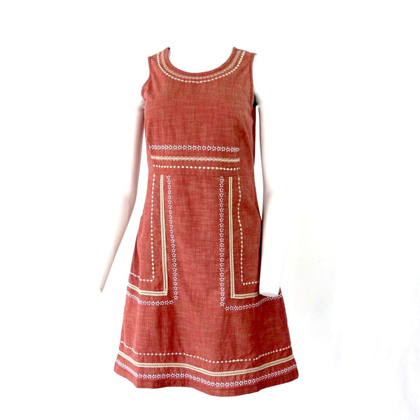 Organic Cotton Sleeveless Dress Certified Fair Trade Made in India