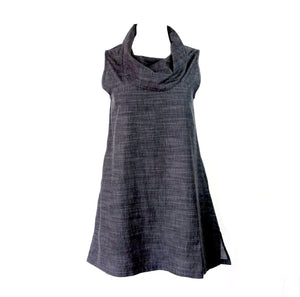 Sleeveless Cowl Neck Tunic