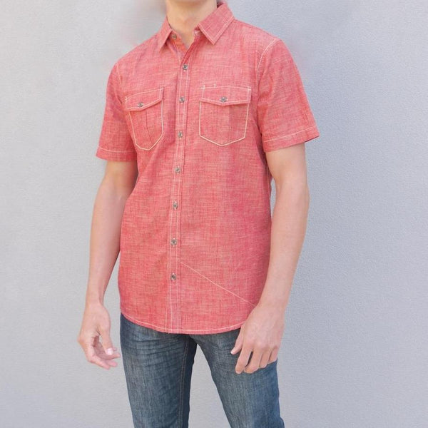 100% Organic Cotton Lightweight Button Down Shirt