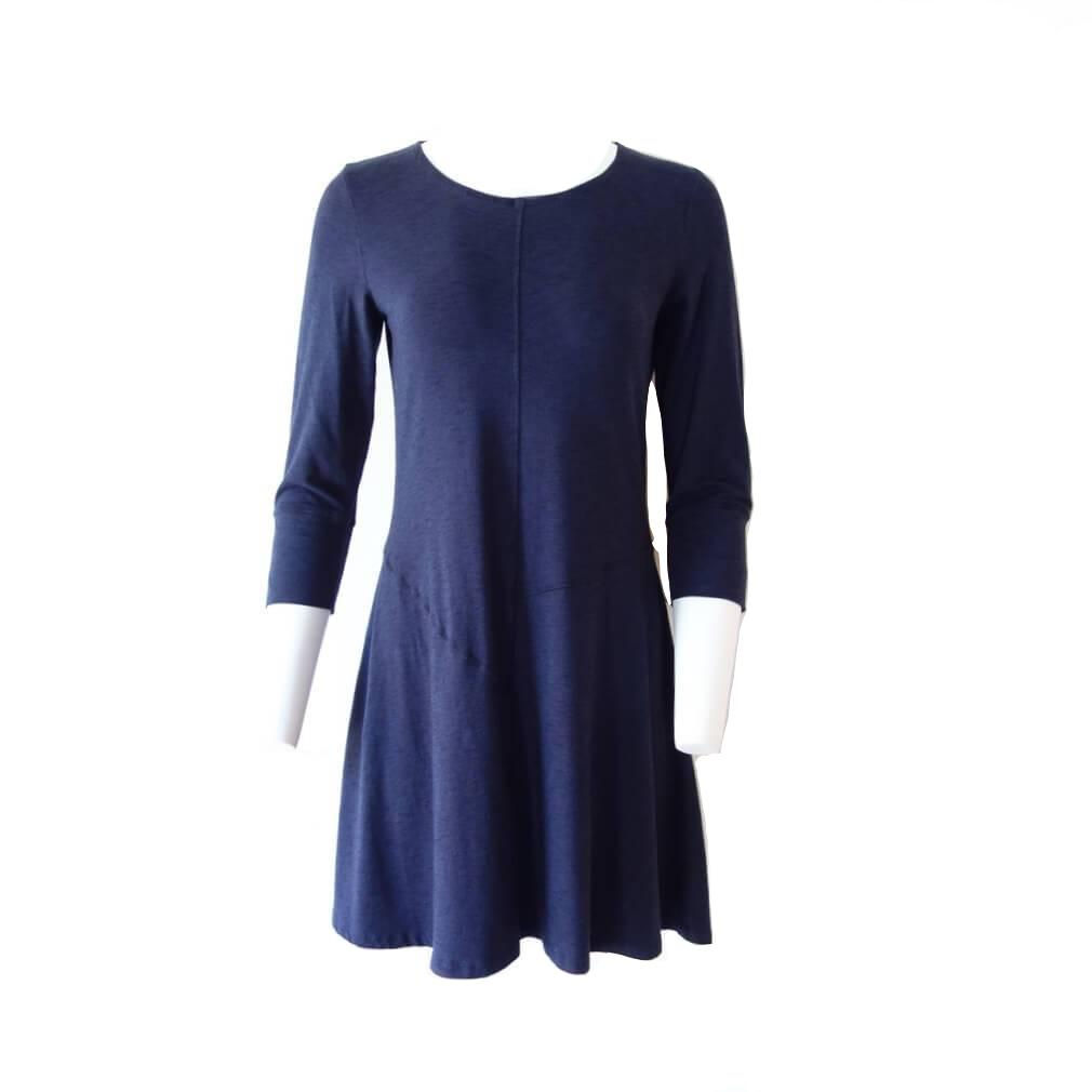 Blue Canoe Slub Puzzle Dress