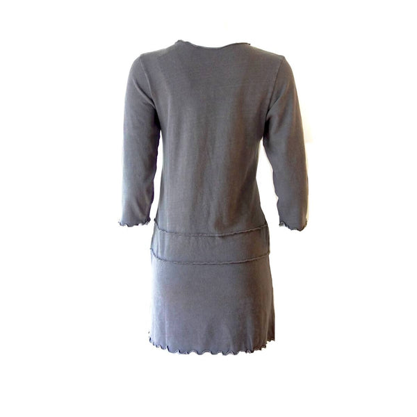 Grey Hemp Cotton Pullover Sadie Tunic