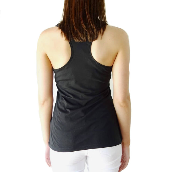 100% Organic Cotton Racerback Tank Top
