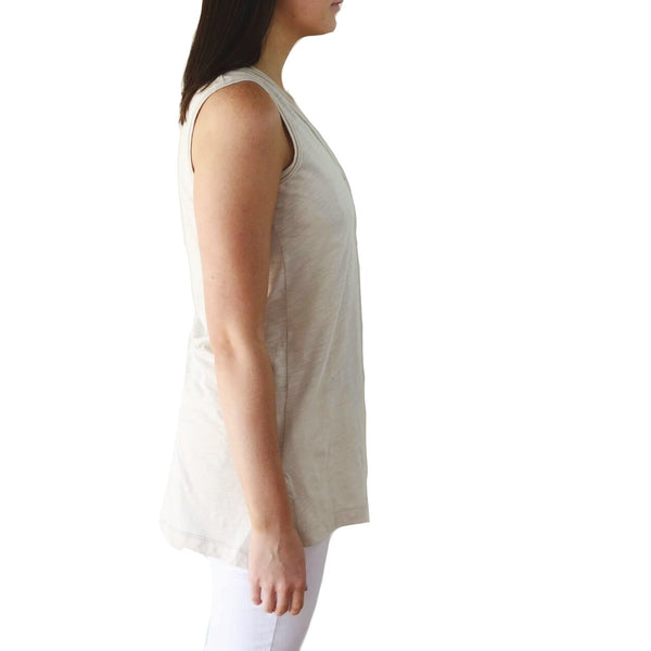 100% Organic Pima Cotton Slub Tank Top