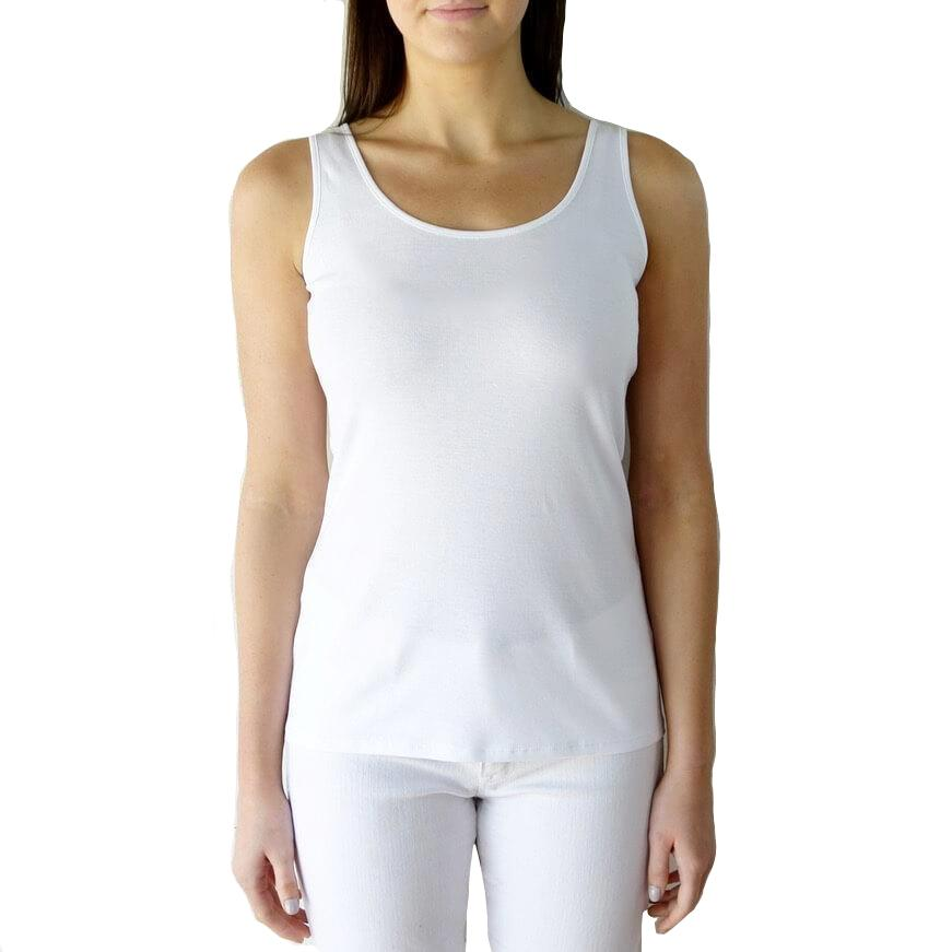 100% Organic Pima Cotton Tank Top