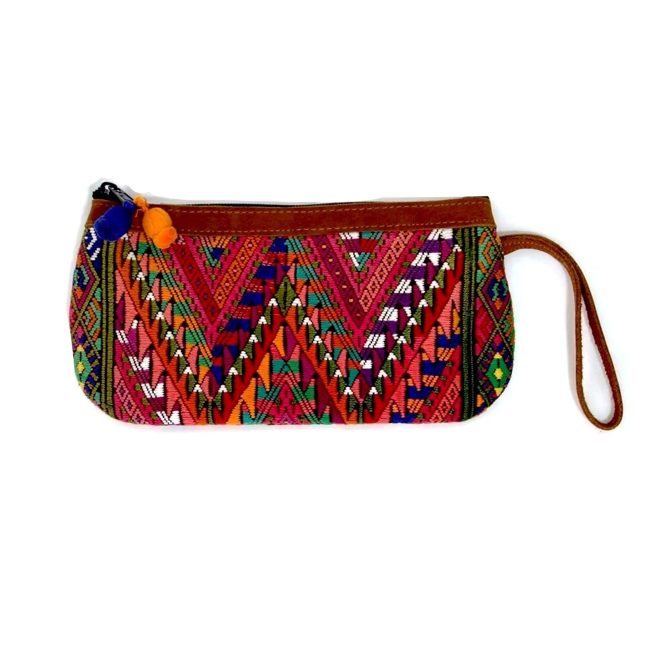 Altiplano Embroidered Textile Wristlet
