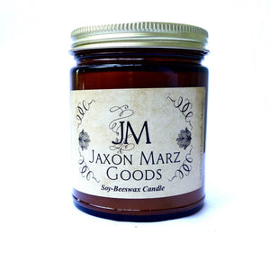 Jaxon Marz Goods Soy and Beeswax Candle