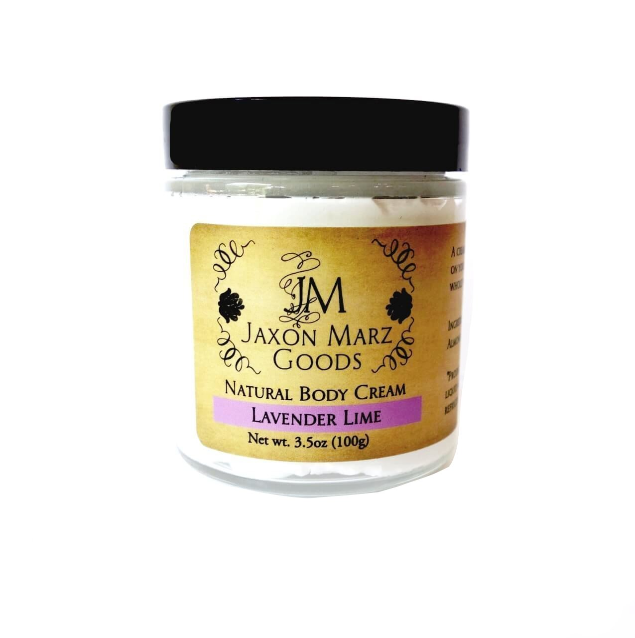 Jaxon Marz Goods Natural Body Cream