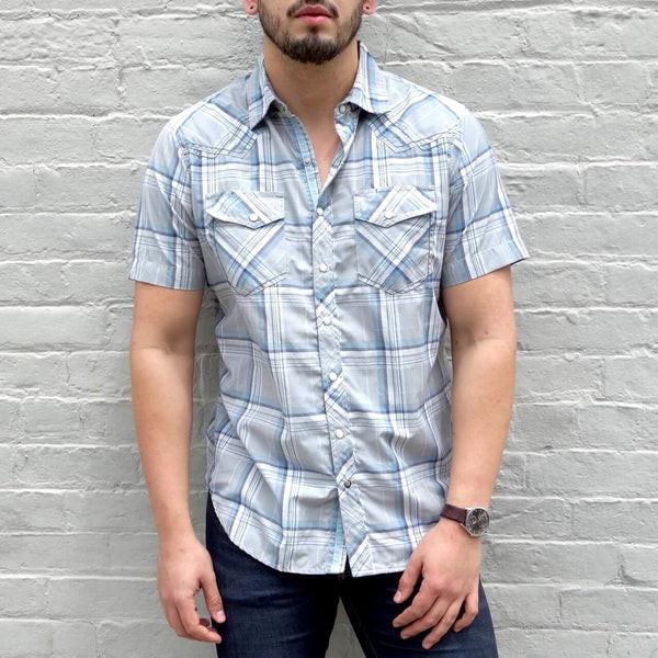 Organic Cotton and Coolmax Polyester Button Down Shirt