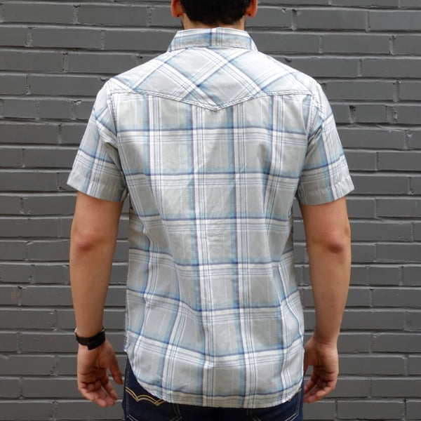 Men's Organic Cotton Lightweight Short Sleeve Shirt