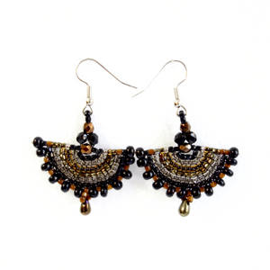 Altiplano Spike Fringe Beaded Earrings