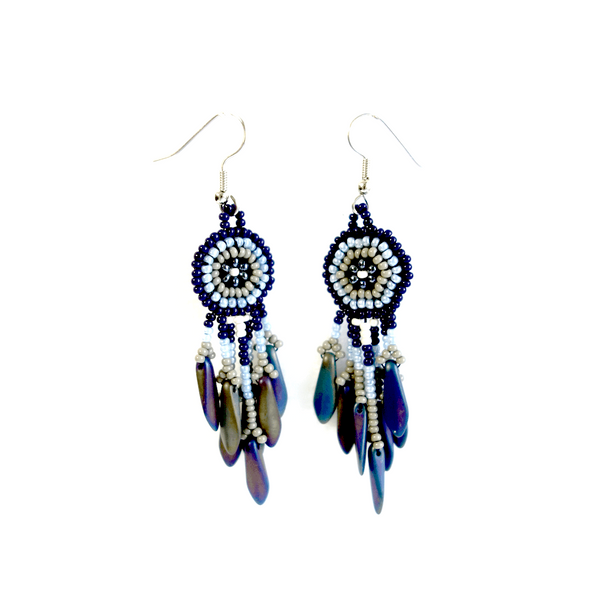 Altiplano Beaded Aztec Earrings