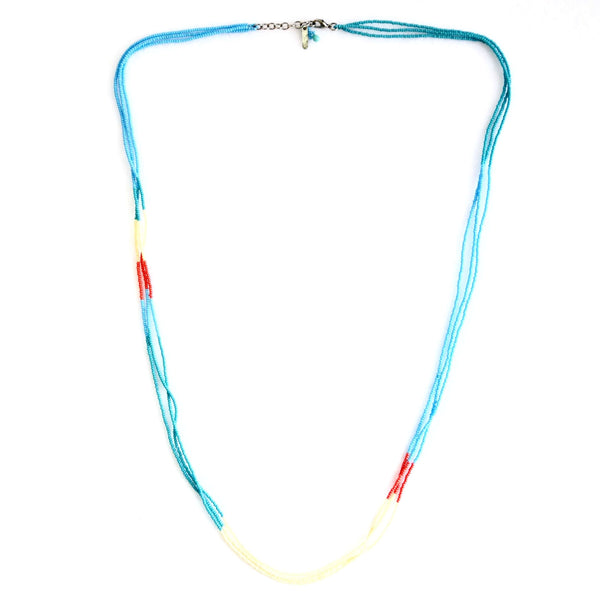 Altiplano Triple Strand Beaded Necklace