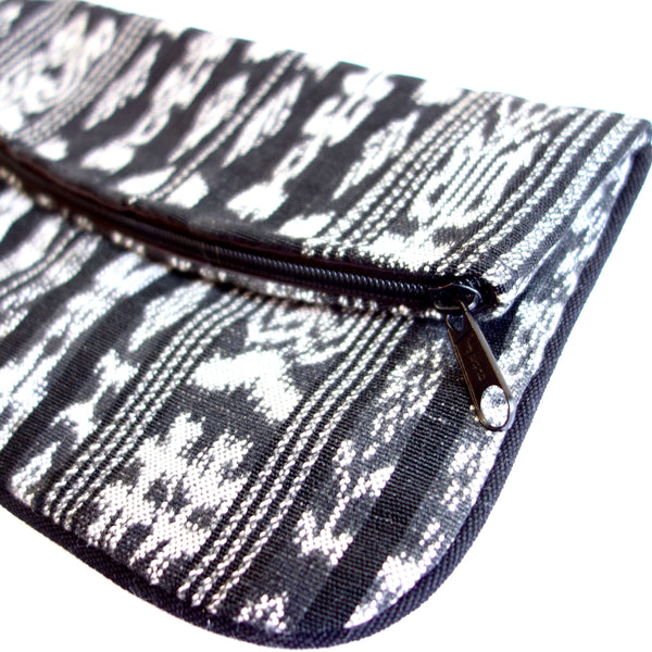Certified Fair Trade Foldover Clutch Purse