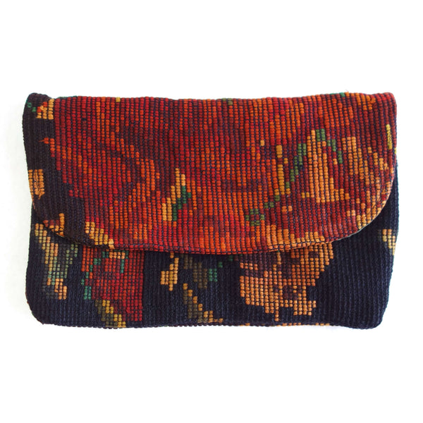 Certified Fair Trade Recycled Huipile Clutch