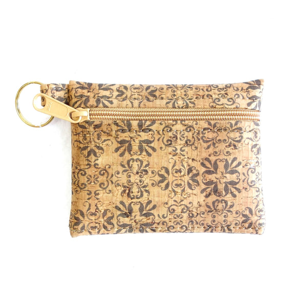 Key-Chain Cork Pouch