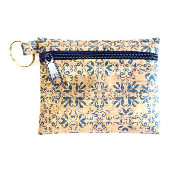 Natalie Therese Key-Chain Cork Pouch
