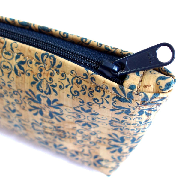 Cork Fabric Medium Pouch