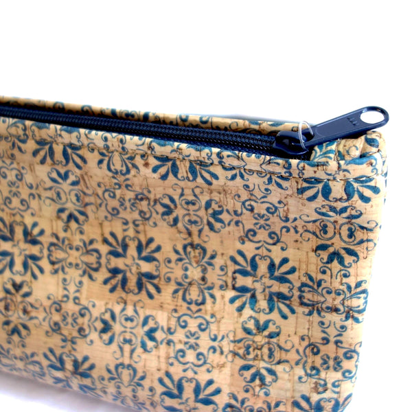 Cork Fabric Large Pouch
