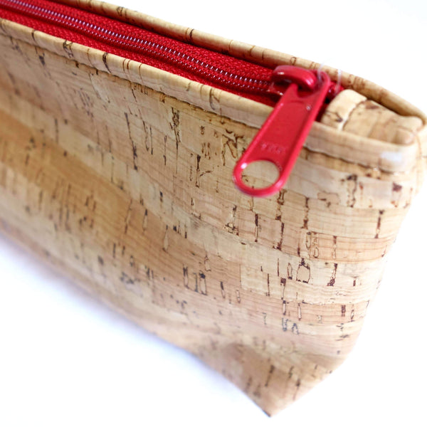 Cork Fabric Pouch Made in the USA
