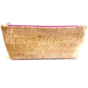 Natalie Therese Cosmetic and Toiletry Cork Pouch
