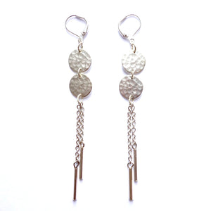 Altiplano Double Disc Dangle Earrings