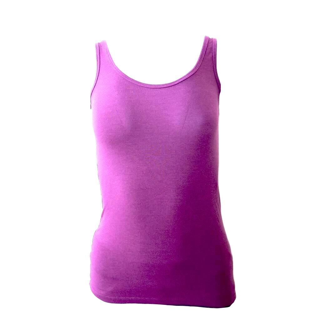 Blue Canoe Organic Cotton and Bamboo Rayon Swoop Neck Tank Top