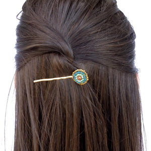 Beaded Hair Pin