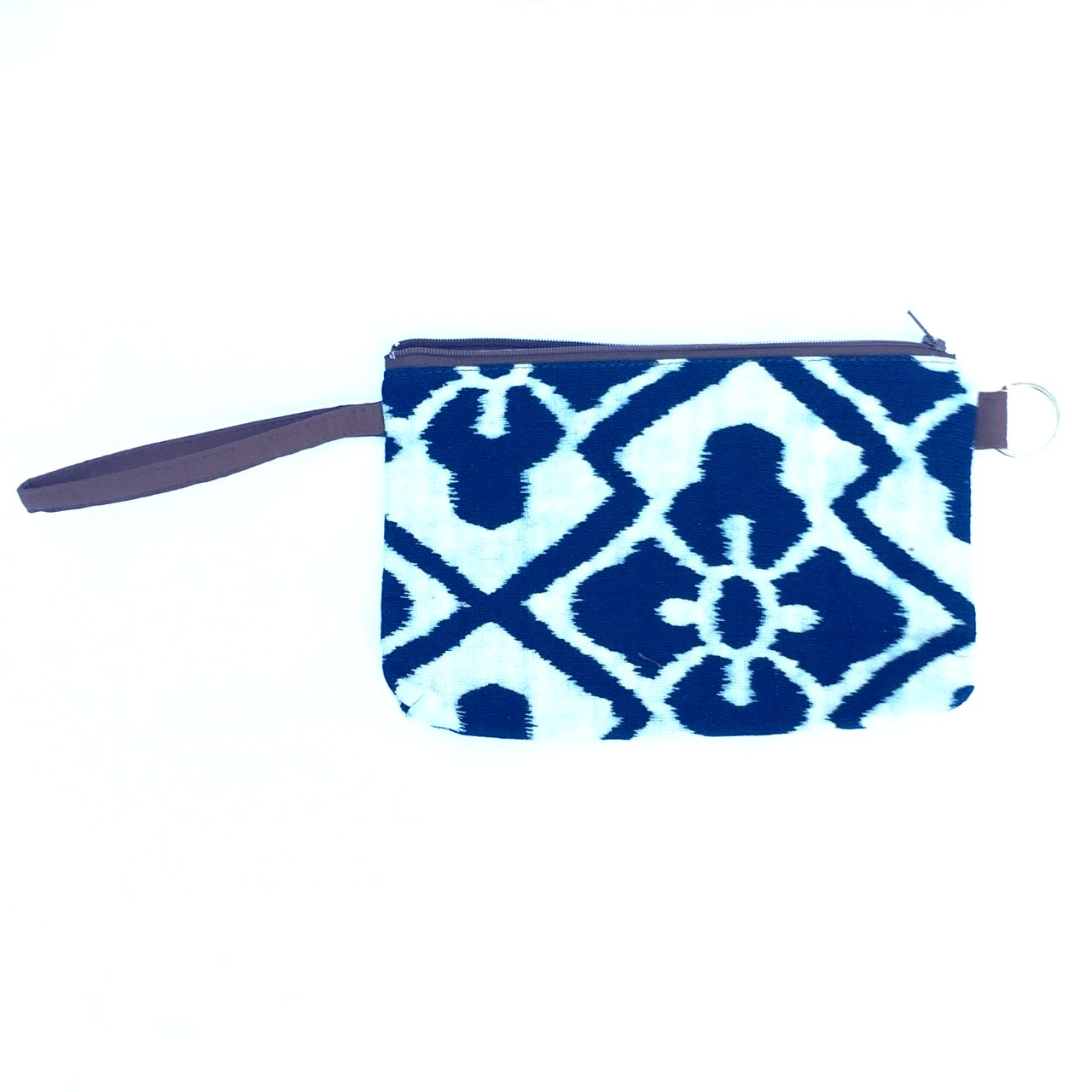 Cotton Wristlet Pouch