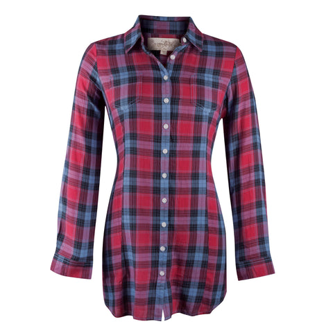 Newberry Plaid Tunic