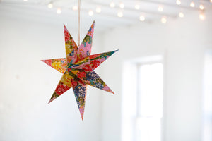 Acacia Creations Hanging Star Lantern
