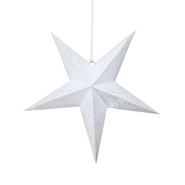 Certified Fair Trade Hanging Star Lantern