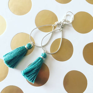 Fair Trade Tassel Hoop Earrings