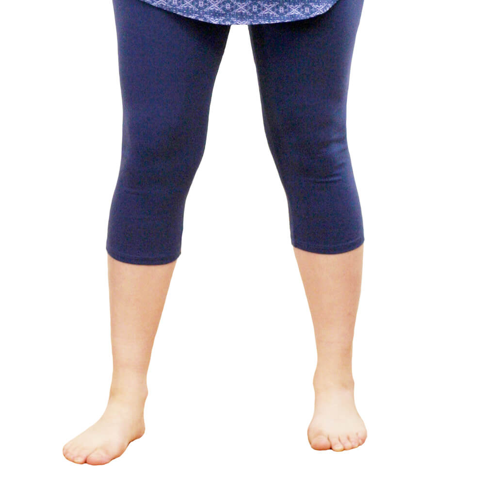 Organic Cotton Mid-Calf Leggings