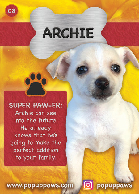 Archie Trading Card