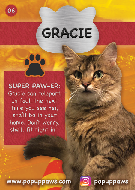 Gracie Trading Card