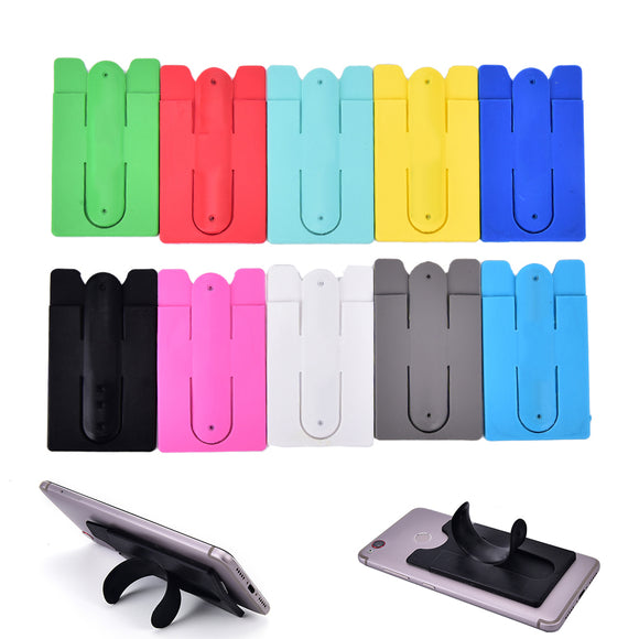 Adhesive Card Holder & Phone Stand