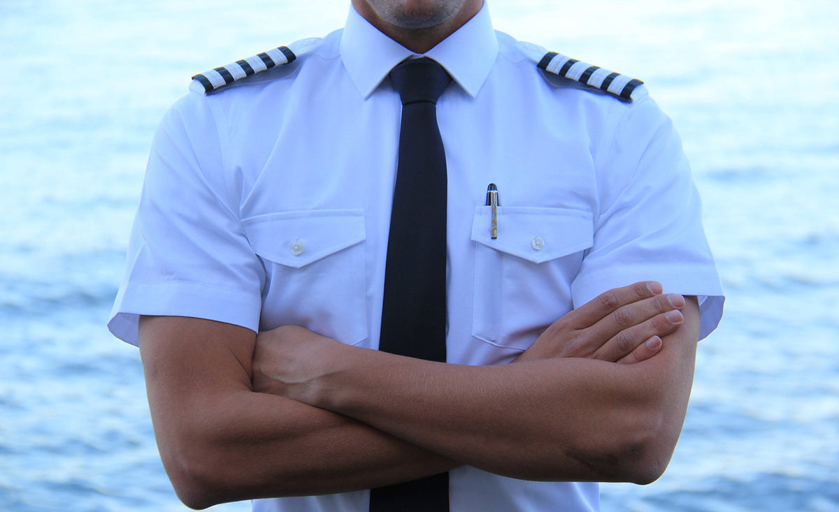 Slim Fit Pilot Shirts Designed in the UK